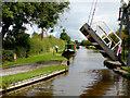 SJ4935 : Morris Lift Bridge near Whixall in Shropshire by Roger  Kidd