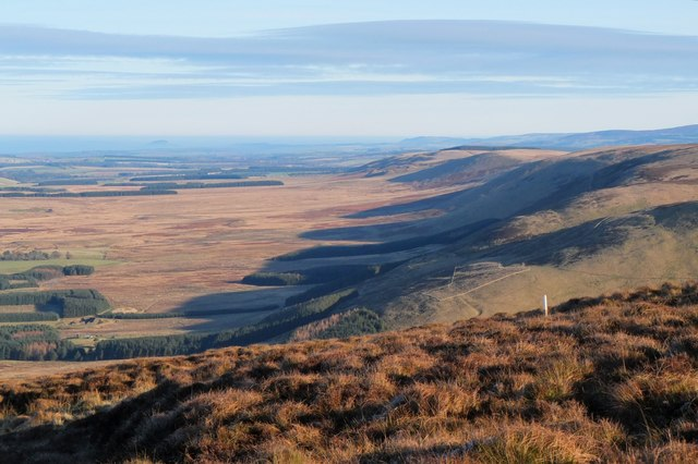 The Southern Upland Fault and the Moorfoot escarpment