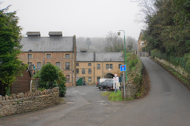 Former paper mill at Wookey Hole