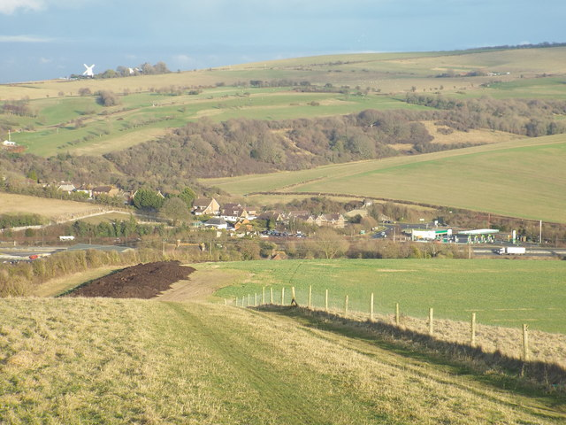 South Downs Way near Pyecombe