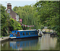 SP9907 : Narrowboat on the Grand Union Canal at Berkhamsted by Mat Fascione