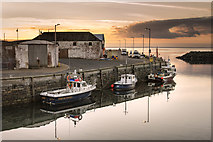 NX3343 : Port William Harbour by James Johnstone