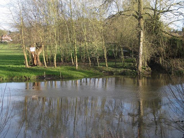 River Avon rising, southeast Warwick