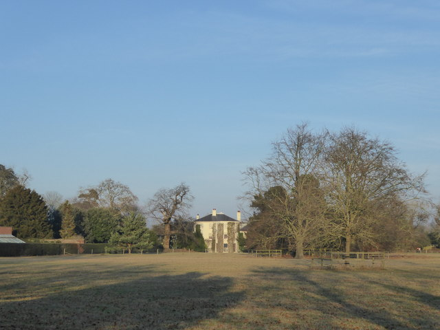 Down House seen across The Great House Meadow