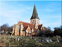 SU9567 : Holy Trinity Church, Sunningdale by Des Blenkinsopp