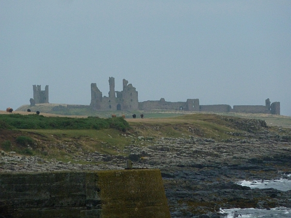 Dunstanburgh Castle from Craster