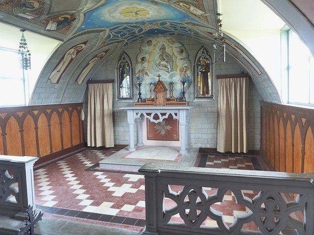 The Altar and chancel, The Italian Chapel, Lamb Holm