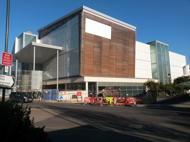 Bournemouth: the West Central complex nears completion
