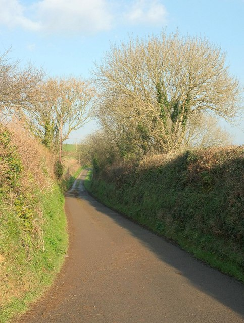 Lane to Tregerrick