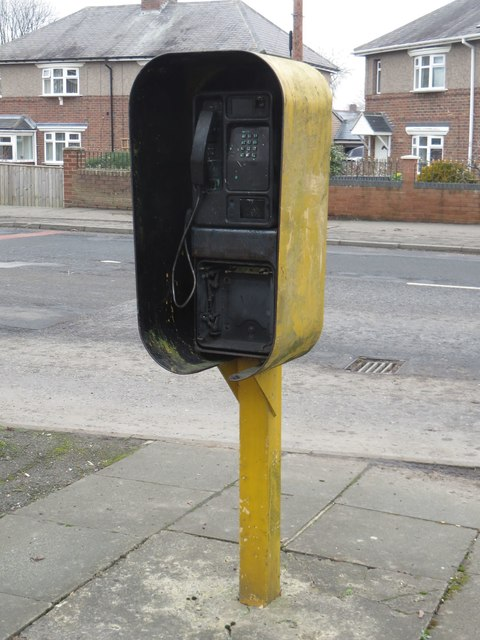 Public telephone, Dinnington