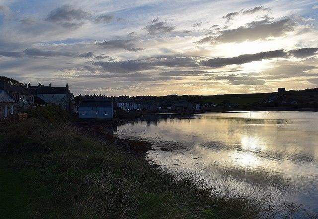 St Margaret's Hope - evening