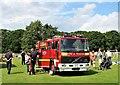 TQ7817 : Fire engine at village fete by Patrick Roper