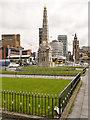 SJ3390 : Liverpool Pier Head, The Titanic Memorial by David Dixon
