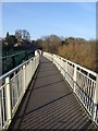 NZ0863 : Ovingham foot bridge by Oliver Dixon