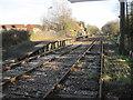 SU3810 : Marchwood railway station (site), Hampshire by Nigel Thompson
