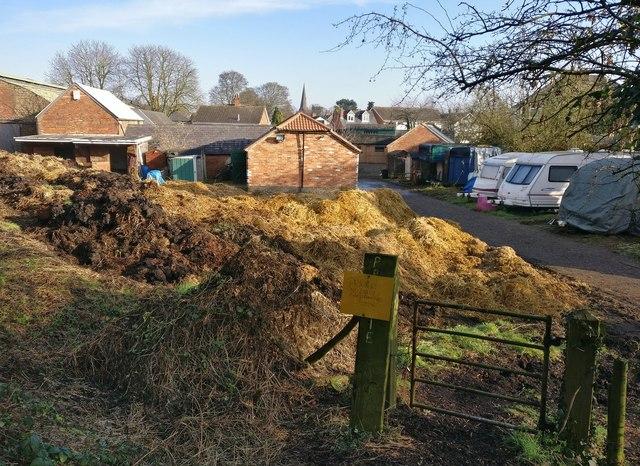 Farmyard at the Village Farm, Aylestone