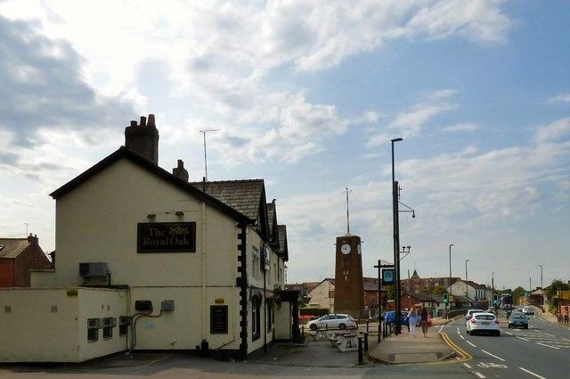 The centre of Failsworth