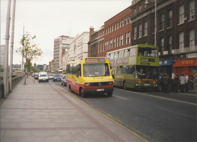 Buses on Aston Quay, Dublin