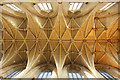 ST9387 : Malmesbury Abbey nave vaulting by Richard Croft
