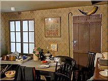 SJ8298 : A Room at Lark Hill Place by David Dixon