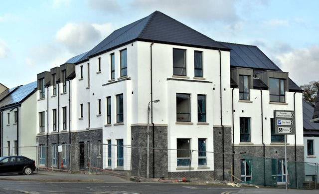 New social housing, Comber - January 2017(1)