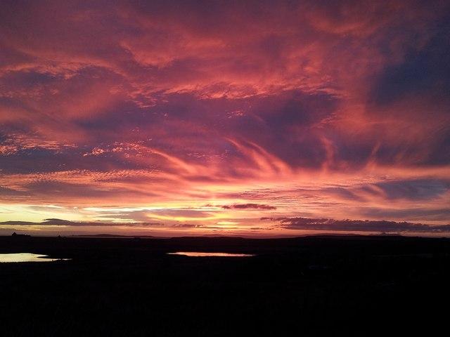 South Ronaldsay sunset (2)