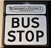 SU8753 : Aldershot - Bus Stop by Colin Smith