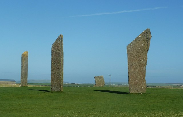The Stones of Stenness - view from the South