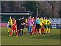 SU9844 : Godalming Town FC by Colin Smith