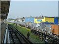 TQ3983 : Platform 3, Plaistow station by Robin Webster