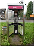 SP8002 : KX300 Telephone Kiosk in Princes Risborough (1) by David Hillas