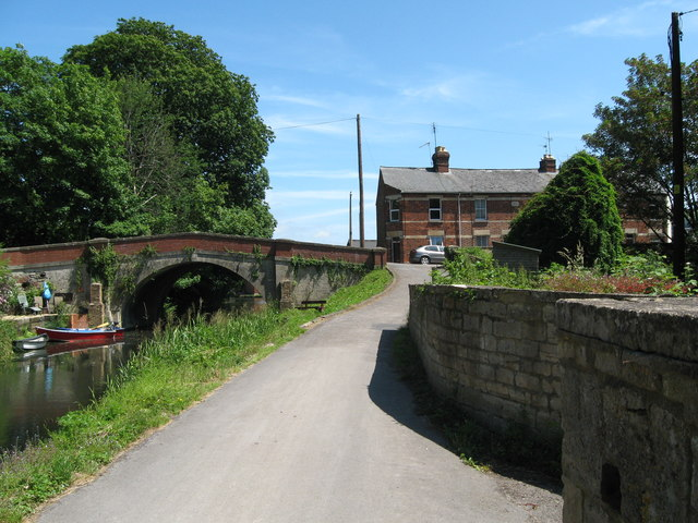 Towpath at Ryeford - Stonehouse, Gloucestershire