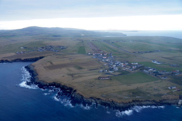 Toab and Hestingott from the air