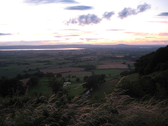Silver Severn at evening - Gloucestershire