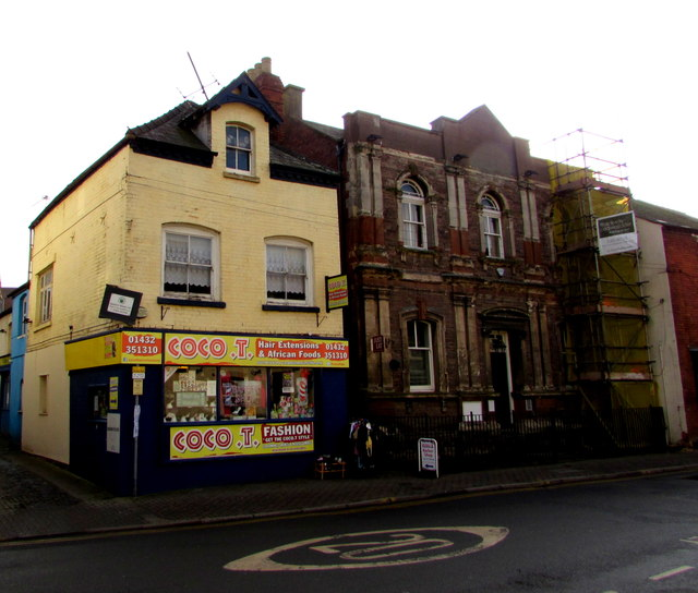 Coco T, Hereford © Jaggery cc-by-sa/2.0 :: Geograph ...