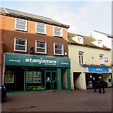 SO5140 : Stan James betting shop, Hereford by Jaggery
