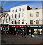 SO5140 : From Commercial Street to High Town, Hereford by Jaggery