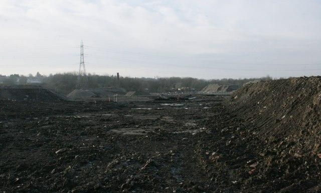 Former BASF chemical works site