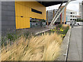 SP3278 : Raised planting bed outside IKEA, by Croft Road, Coventry by Robin Stott
