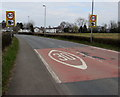 ST3490 : Start of the 30 zone, Caerleon by Jaggery