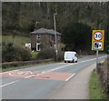 ST3489 : Start of the 30 zone south of Caerleon by Jaggery
