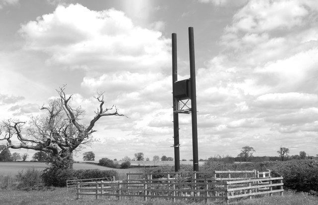 Mobile Phone Mast, Acton Turville, Gloucestershire 2012