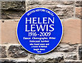 J3373 : Helen Lewis plaque, Belfast (January 2017) by Albert Bridge