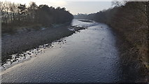 NY7063 : River South Tyne from Haltwhistle Tyne bridge by Clive Nicholson