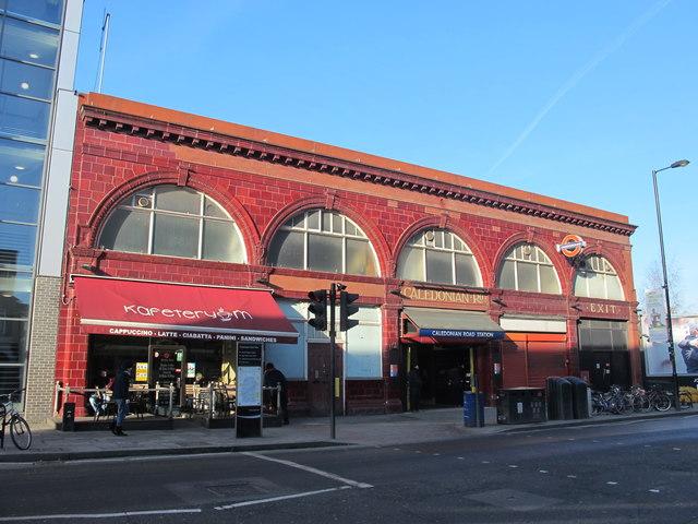 Caledonian Road tube station, Caledonian Road, N7