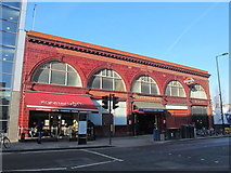 TQ3084 : Caledonian Road tube station, Caledonian Road, N7 by Mike Quinn
