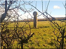 SW7436 : An ancient cross by Hywel Williams