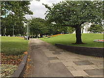 SP3378 : A walk in Greyfriars Green, Coventry by Robin Stott