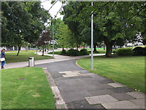 SP3378 : Nearing the extension to Greyfriars Green, Coventry by Robin Stott