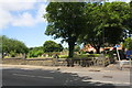 SE2931 : Holbeck Cemetery at junction of Beeston Road and Temple Crescent by Roger Templeman